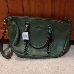 Coach large handbag - jumbo whip